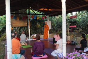 Meditation class with Buddhist Monk 2